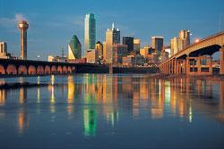 Dallas skyline, courtesy Dallas Convention & Visitors Bureau