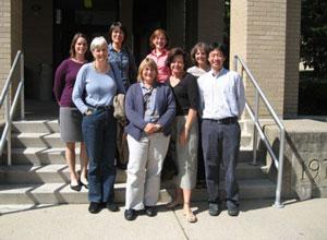 APLIC board members, Penn State, Fall 2008 (courtesy Lori Delaney)