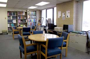 Study area, after the move