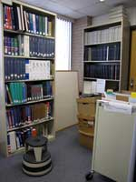 Reference alcove, before the move