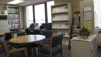 Study area, before the move