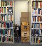 A library in boxes