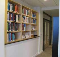 Library near Board Room entrance