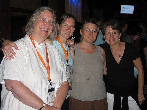 Laurie Calhoun, Tara Murray, Julia Cleaver, Mary Panke