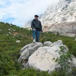 William Fennie, near Cézanne's favorite mountain