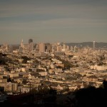 View of San Francisco from Kite Hill