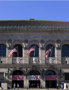 McKim Building, Boston Public LIbrary