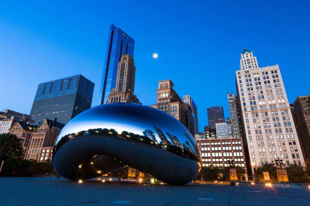 downtown chicago illiinois